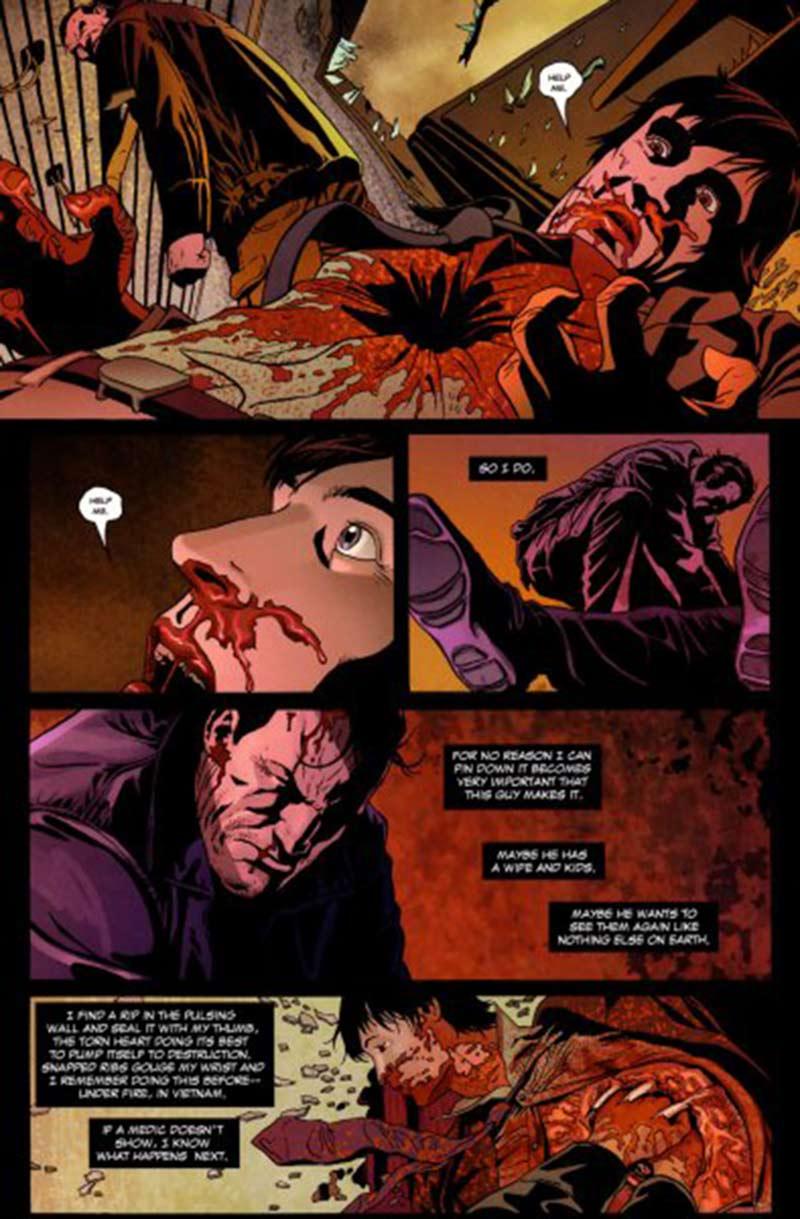Marvel Saga 21  El Castigador 3  Cocina Irlandesa  – Zona