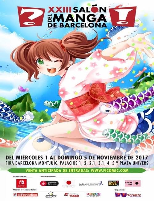 Cartel_XXIII_Salón_Manga_Barcelona