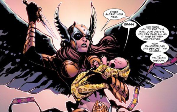 Thor Angela bebe