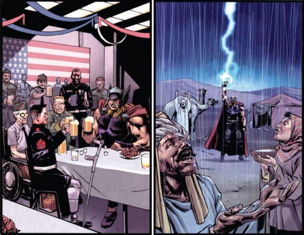 Thor God of Thunder 12 ayudando