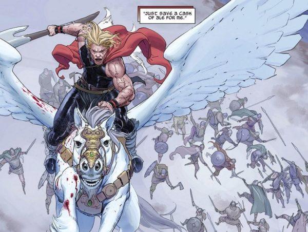 God of Thunder Joven Thor