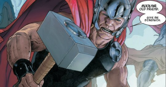 Thor God of Thunder fragmento