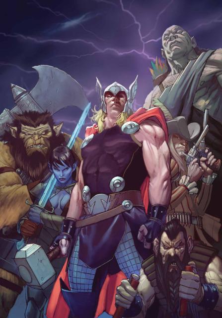 Thor Liga de los Reinos