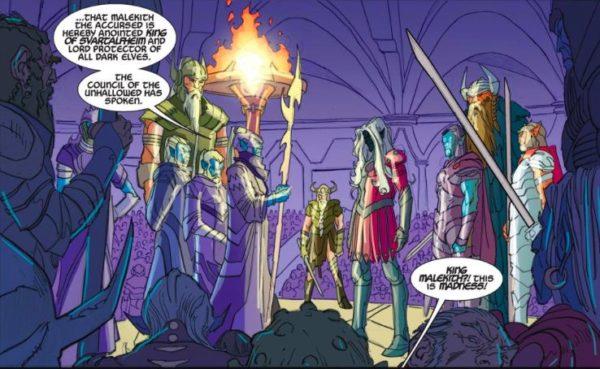 Thor Malekith coronación