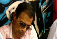Alfonso Azpiri en el Salón del Cómic de Barcelona