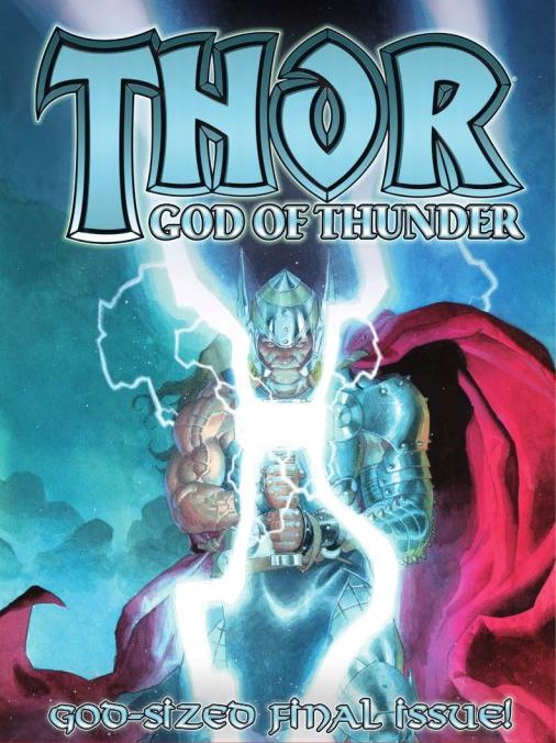 Thor God of Thunder 25 Portada