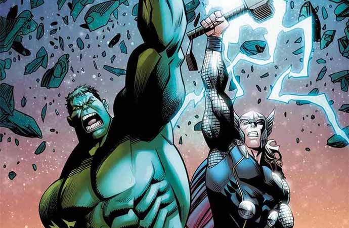 Thor vs Hulk: Champions of the Universe #1