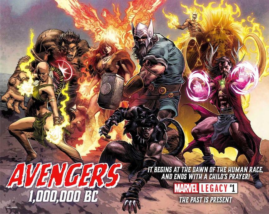 Vengadores 1.000.000 AC