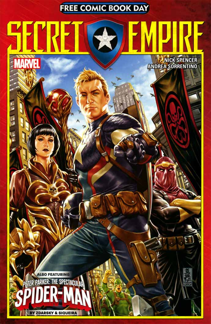 Free Comic Book Day 2017 Secret Empire #1