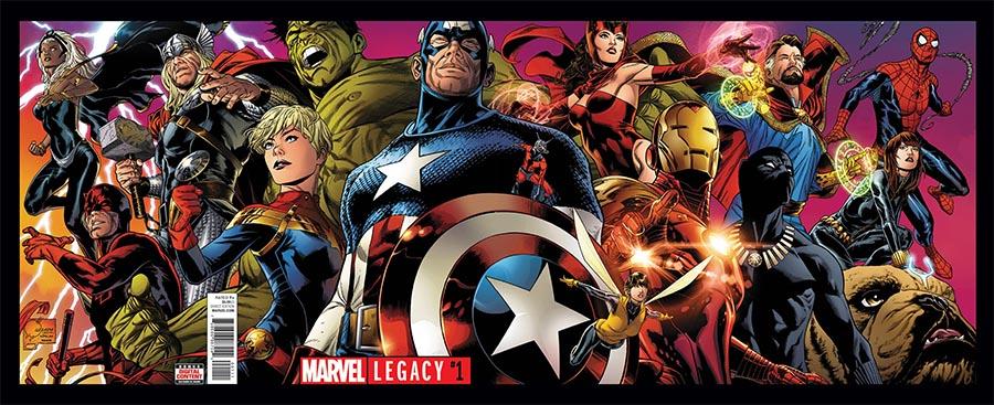 Marvel Legacy #1 portada completa