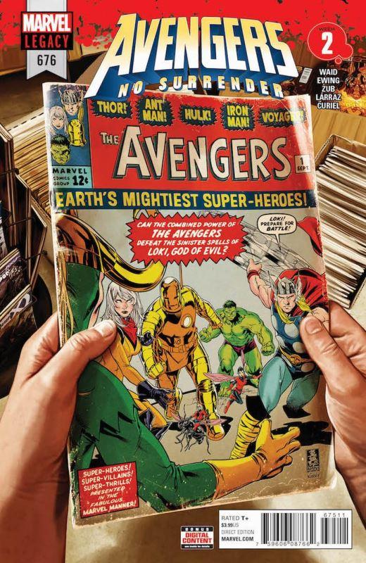 Avengers 676 portada