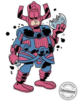 Galactus por Jim Davis