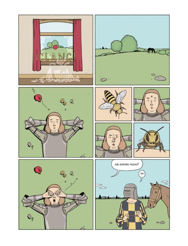 ... se despierta  su sueño ha sido interrumpido por el vuelo de una abeja  alrededor de una granada. Ha llegado el momento de reanudar la misión. En  compañía ... cabf6126114