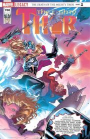 Mighty Thor 700 Portada