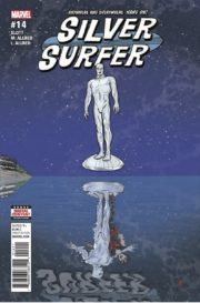 Portada de Silver Surfer #14