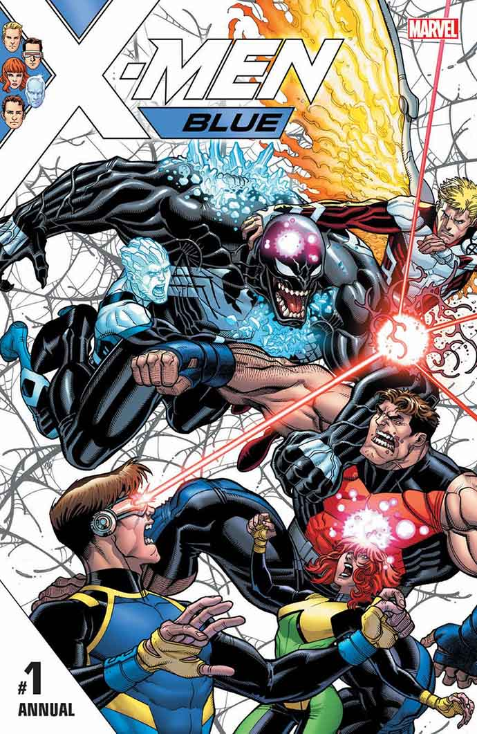 Portada de X-Men: Blue Annual #1