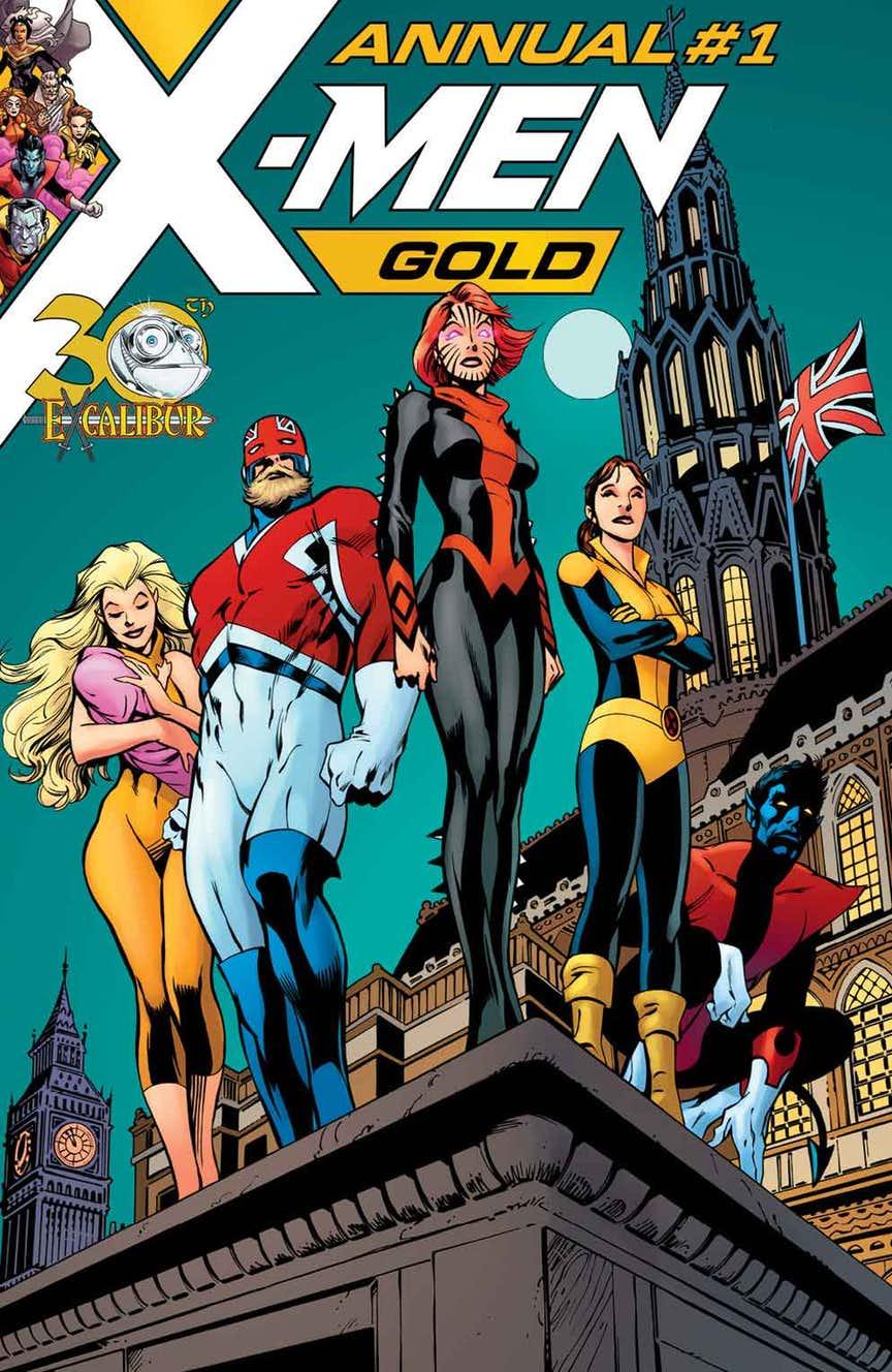 Portada de X-Men: Gold Annual #1