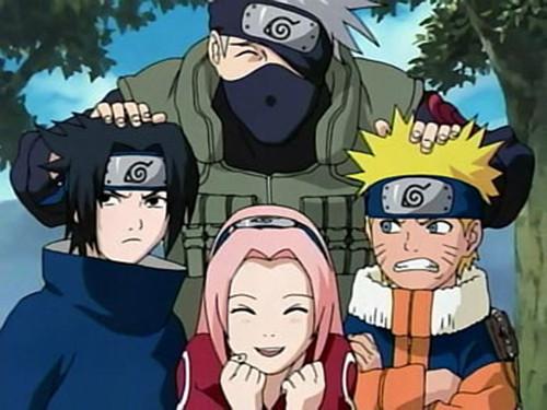 Naruto-Sakura-Sasuke-Kakashi