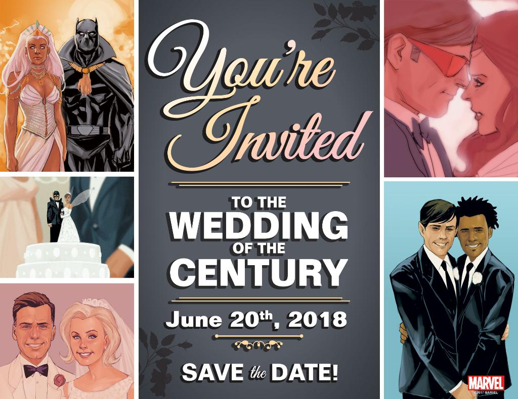Boda Marvel junio 2018