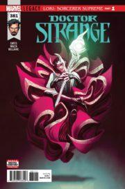 Portada de Doctor Strange #381
