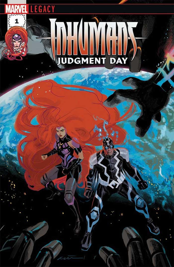 Inhumans: Judgment Day portada