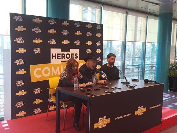 rueda de prensa frank miller heroes comic con 2017