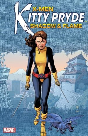 Kitty Pryde Shadow & Flame Portada