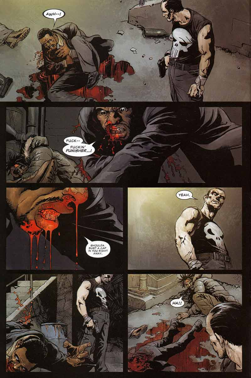 Marvel Saga 46  El Castigador 9  Hombre de Piedra  – Zona