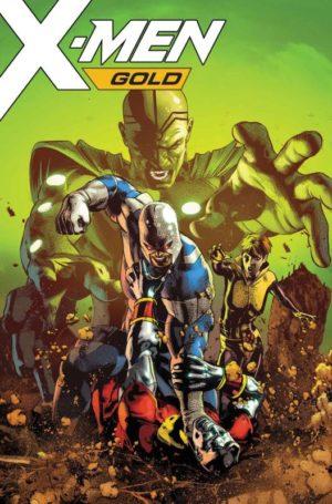 X-Men Gold 21 Portada