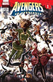 Portada de Avengers #675, No Surrender Parte 1