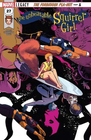 Portada de Unbeatable Squirrel Girl #27