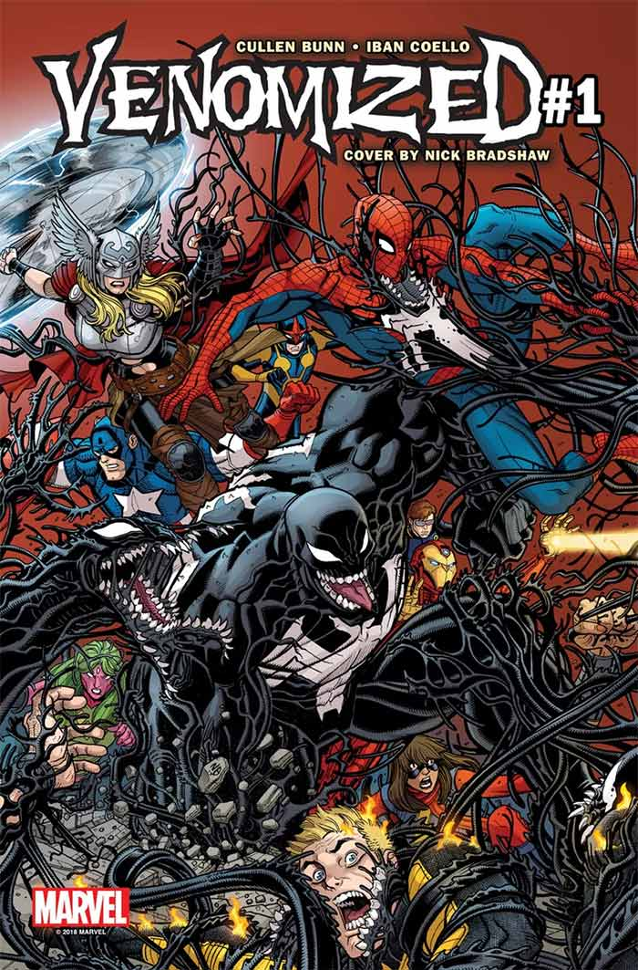 Portada de Venomized #1