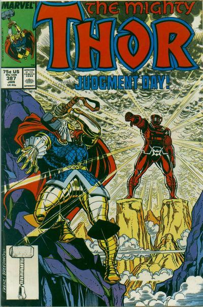 Thor contra los Celestiales