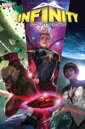 Infinity Countdown Captain Marvel