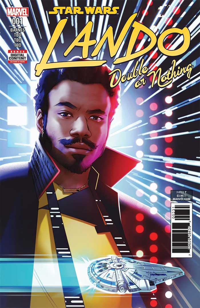Lando Double or Nothing #1 portada
