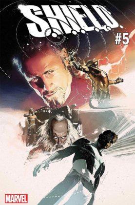 S.H.I.E.L.D. #5 portada