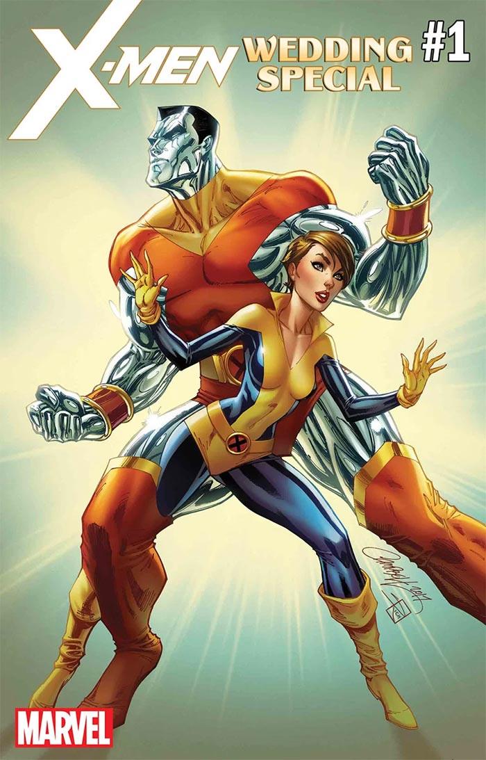 X-Men Wedding Special #1 portada