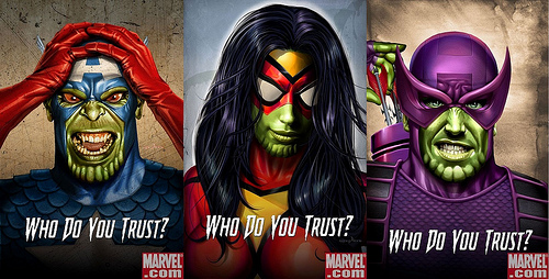 Who do you trust? Secret Invasion