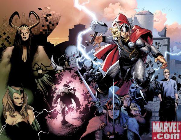 Resumen y recopilación de la versión de Thor de Straczynski y Coipel