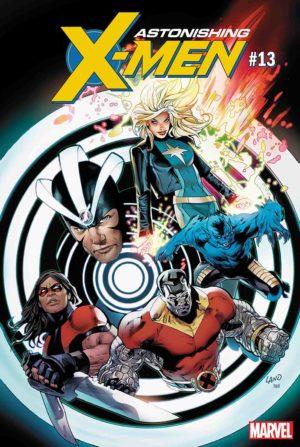 Portada de Astonishing X-Men #13