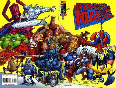 Marvel Comics, por Sergio Aragonés