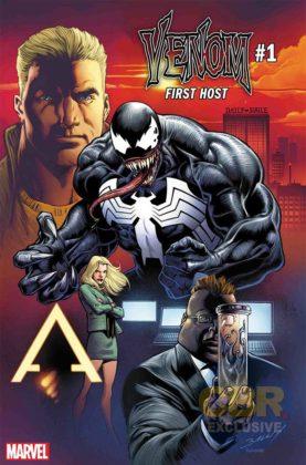 Venom The First Host 1 portada