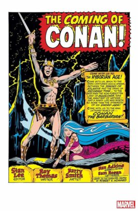 Conan the Barbarian: The Original Marvel Years Omnibus