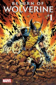 Return of Wolverine #1 portada
