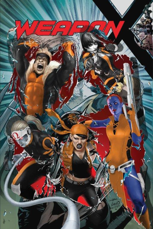 Weapon X #22 portada