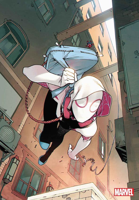 Spider-Gwen a.k.a. Ghost Spider