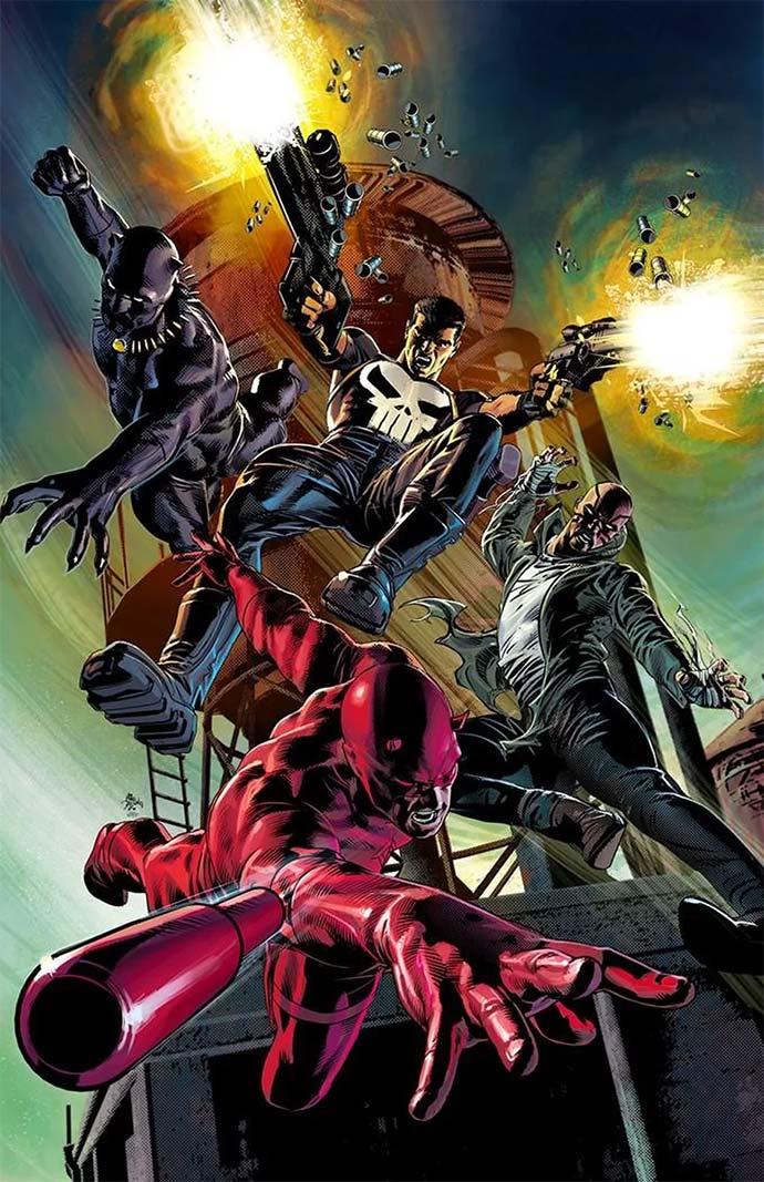 Marvel Knights 20 aniversario
