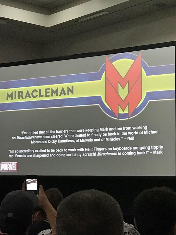 Miracleman regresa en 2019