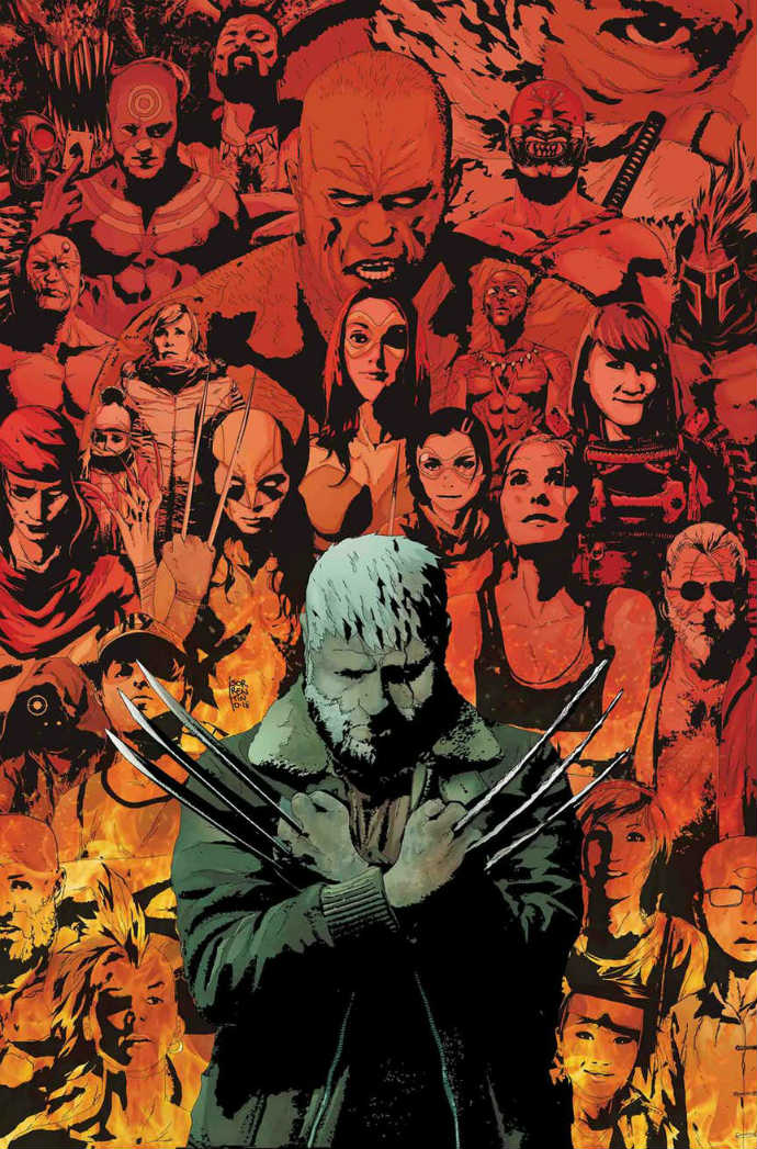 Old Man Logan #50 portada