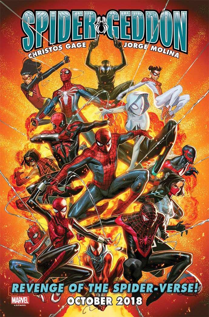 Teaser completo de Spidergeddon